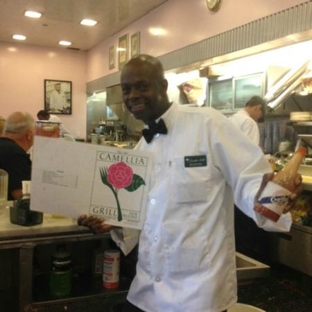 The Camellia Grill: Our waiter, Marvin