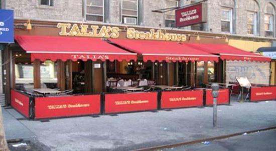 Outdoor Cafe Sidewalk Cafe Kosher Restaurant In