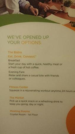 Courtyard by Marriott Middletown: Actually 'No,' You've REDUCED Our Options By Removing Complimentary Tea and Coffee