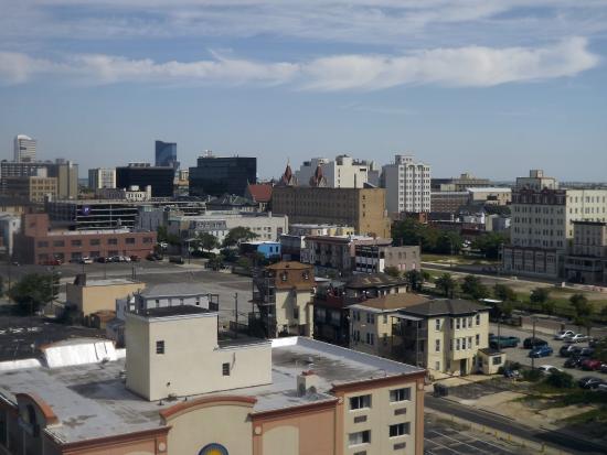 La Renaissance Suites: City view from our room