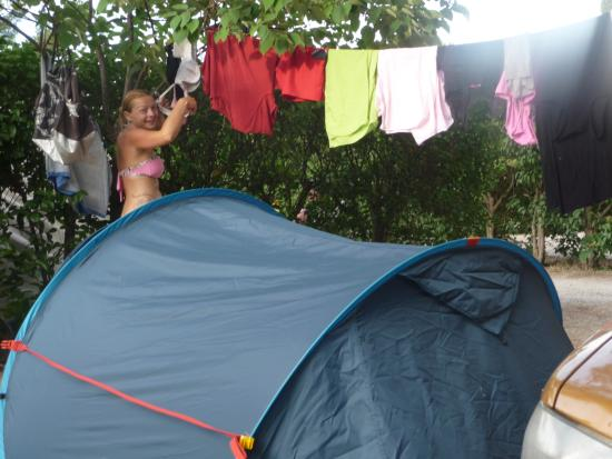 emplacement camping Les Cigales