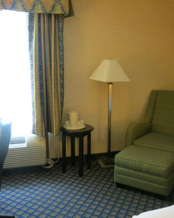 Seating area in Room 211