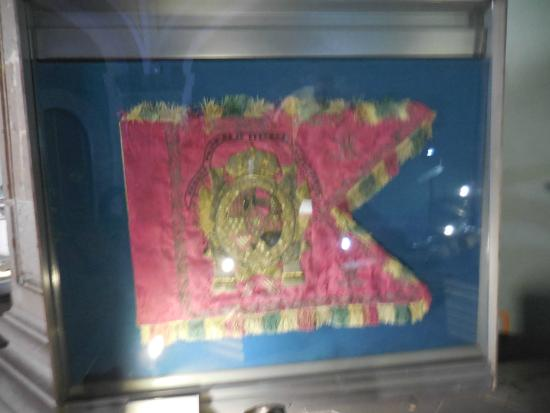 Museum of the Army and Air Force Bethlemitas: Flag of Cortez