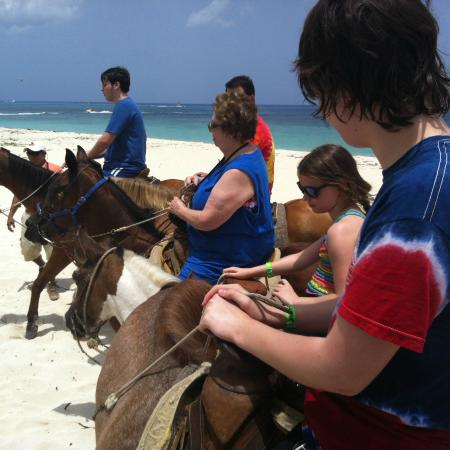 Cozumel Horseback Riding Beach The Best Beaches In World