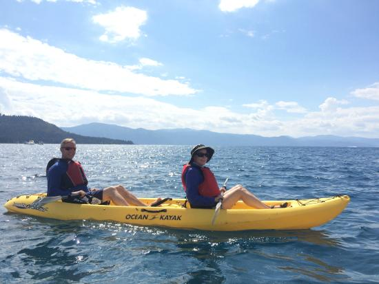 Tahoe Adventure Company: Kayak fun on Lake Tahoe
