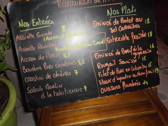 Le Gosier, Guadeloupe: La carte