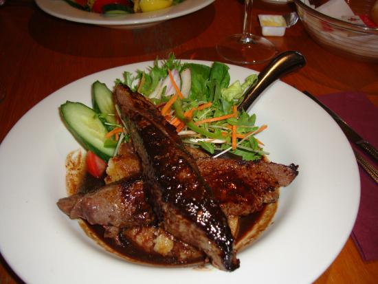 Queenscliff: Marinated Kangaroo Fillet