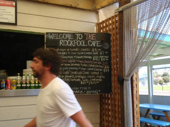 The Rockpool Cafe: Worker or owner