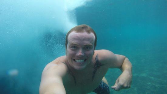 Paia, HI: A selfie of our tour guide