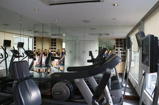 The gym room picture of naumi hotel singapore singapore