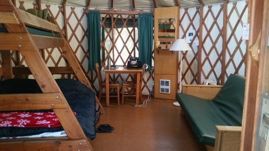 Nehalem, Oregón: Yurt 48