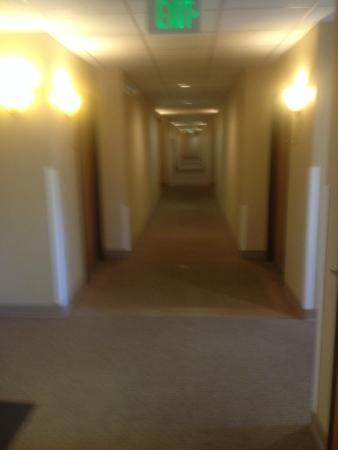 Selah, WA: View down the hallway.