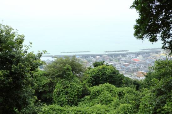 Gotenyama Mountain : 展望台からの景色