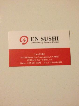 En Sushi - Los Feliz