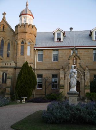 Abbey of the Roses: Time for Sundowners in the Attic
