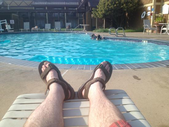 Red Lion Hotel Yakima Center: Pool area is awesome.