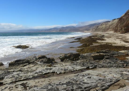 Jalama Beach County Park: View to the north