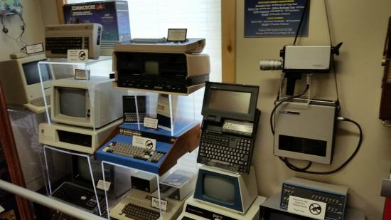 American Computer Museum: Some of the early personal computers on display.