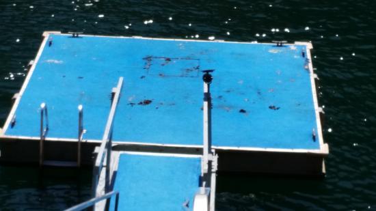 Lake Almanor Peninsula, Califórnia: deck poop