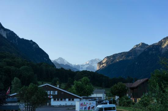 View from the hotel's balconies - Picture of Alpine-Inn by