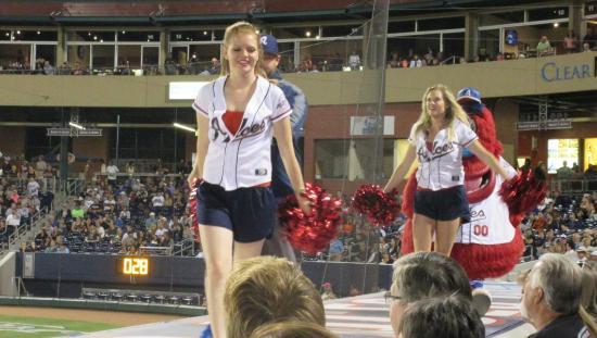 Cheerleaders, Reno Aces Ballpark, Reno, NV - Picture of