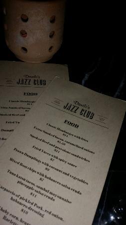 Danilo's Jazz Club: Intimate atmosphere. Great service. Amazing entertainment.