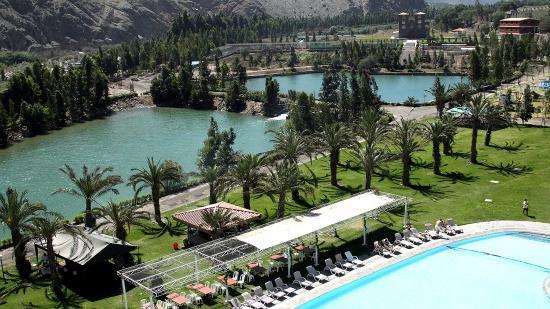 Foto de hacienda hotel guizado portillo pacar n lagunas for Piscinas portillo