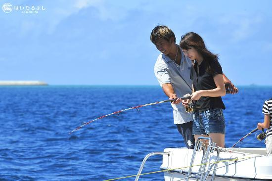 はいむるぶし, 初心者の方も安心して参加できる船釣り体験フィッシング。釣った魚は夕食時に召し上がれます。