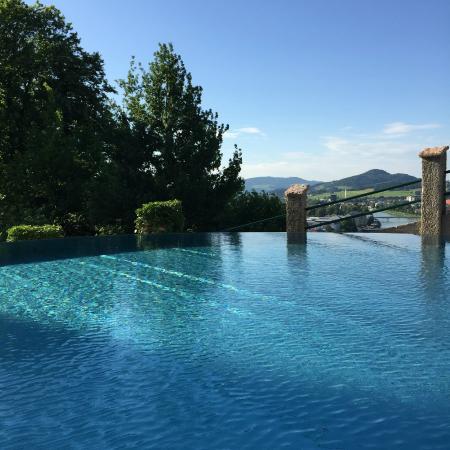 Infinity Pool Picture of Hotel Schloss Monchstein Salzburg