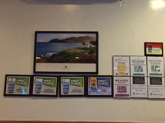 Garden Island BBQ & Chinese Restaurant : Award winning