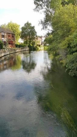 The Crown Inn: Walking around Fordingbridge