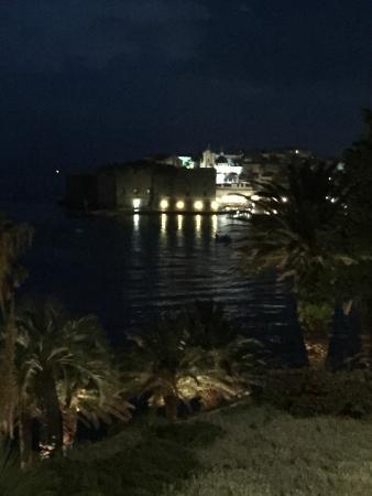 Villa Odak: View of old town