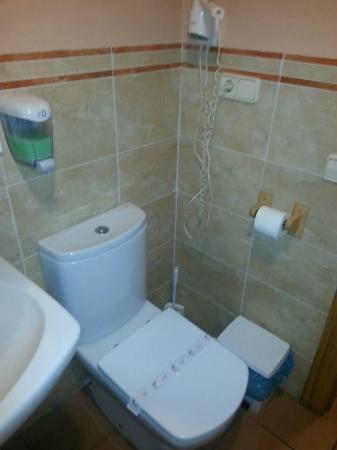 Arcas del Villar, Spanyol: WC.