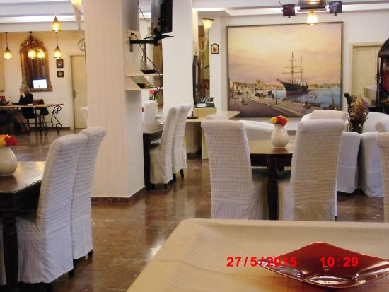 Bacoli Hotel: Receptionen