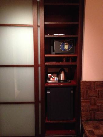 Athenaeum Hotel: Closet