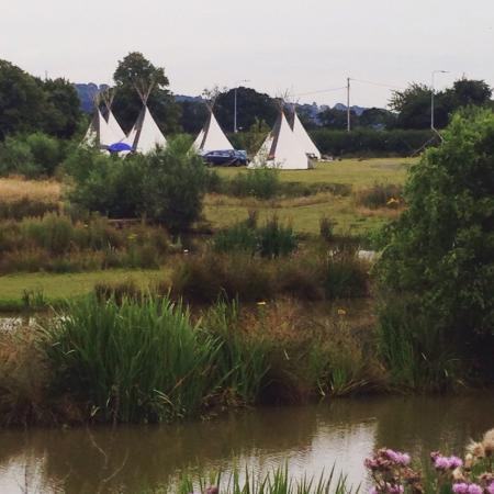 Tarvin, UK: Crow Camp Tipis