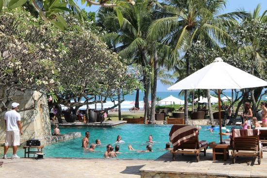 The Royal Beach Seminyak Bali - MGallery Collection: vue piscine