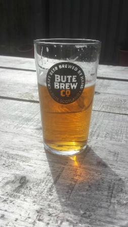 Rothesay, UK: Bute Brew Co Scalpsie Blonde