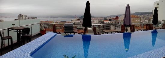 Hotel Axis: Terraza planta 9