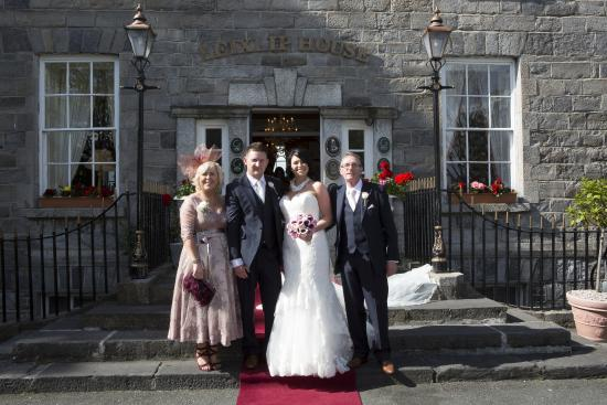 Leixlip House Hotel: Wedding Day 26/6/15