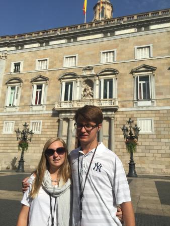 Palau de la Generalitat de Catalunya: The beginning of our gothic tour