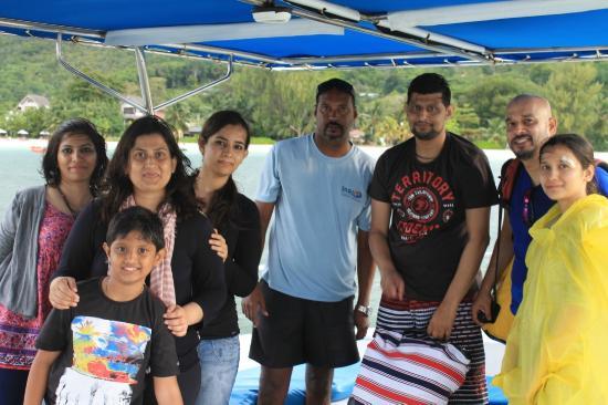 Praslin Adası, Seyşeller: Our family