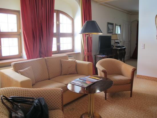 Romantik Hotel Bulow Residenz: le salon