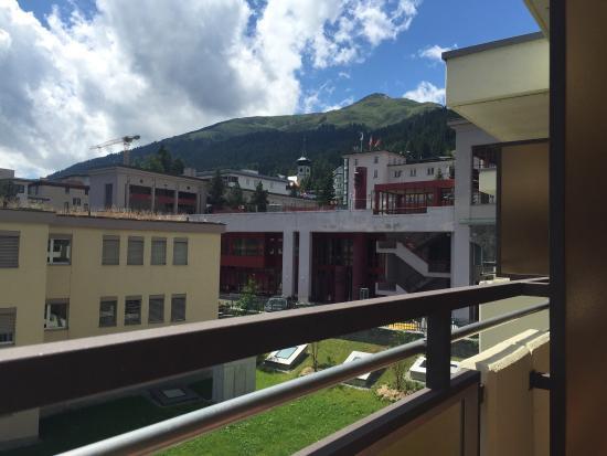 Spengler Hostel : View from the balcony