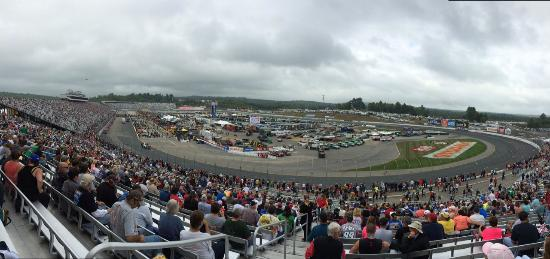 New Hampshire Motor Speedway Panoramic View Of Track