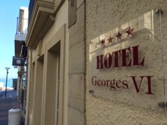 Georges VI: Tæt på alt og alligevel et fredeligt hotel.