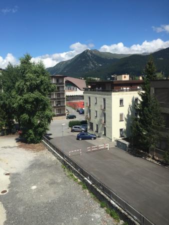 Spengler Hostel : View of the ice rink