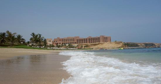 Al Husn as seen from the beach at the Al Bandar and Al Waha