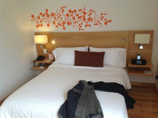Hotel bh Parque 93: mi habitacion