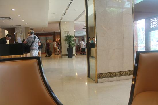 Grand Pacific Hotel: lobby...